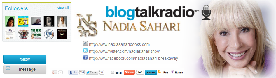 Nadia Sahari Blog Talk Radio